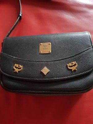 MCM kleine schwarze Tasche