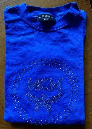 MCM Top à manches longues bleu