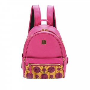 MCM Backpack pink leather