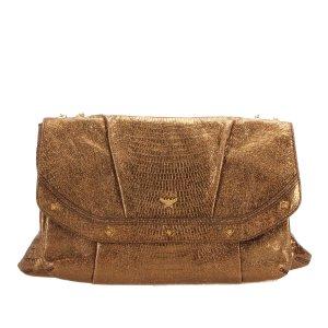 MCM Leather Chain Shoulder Bag