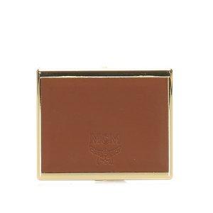 MCM Mini sac doré cuir