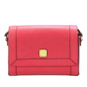 MCM Crossbody bag pink leather