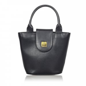 MCM Handbag black leather