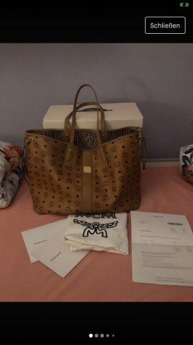 MCM Liz Visetos Shopper L