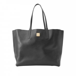 MCM Medium Reversible Koppelene Leather Tote Bag