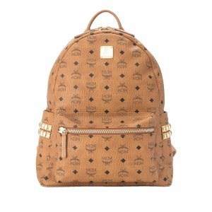MCM Medium Visetos Stark Backpack