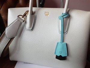 MCM Milla  Tote  BAG  Medium  Pearl