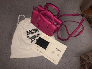 MCM Borsa a spalla rosa