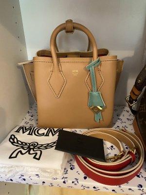 MCM Mini Bag camel leather