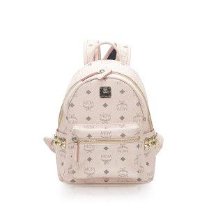 MCM Backpack light pink leather
