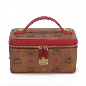 MCM Mini Visetos Rockstar Skyoptic Vanity Bag