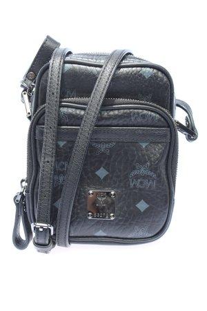 MCM Mini sac noir-bleu style décontracté