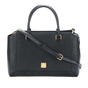 MCM Satchel black leather