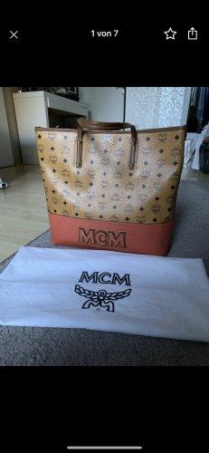 MCM Shopper cognac-orange foncé
