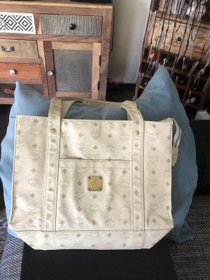 MCM original true Vintage Shopper Vanilla