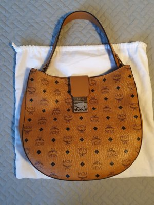MCM Hobos cognac-coloured leather