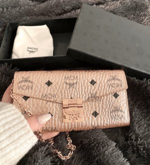 MCM Wallet rose-gold-coloured