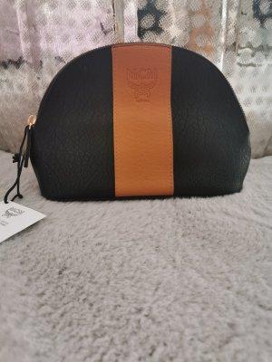 MCM Bolsa de Cosmeticos negro-marrón