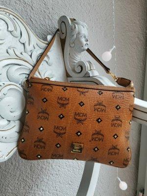 MCM Mini Bag bronze-colored