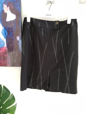 MCM Pencil Skirt black-grey
