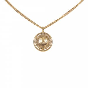 MCM Collar color oro metal