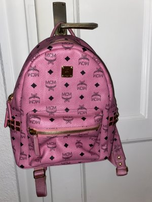 MCM Mini Backpack pink leather