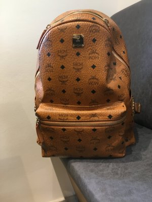 MCM Daypack bronze-colored leather