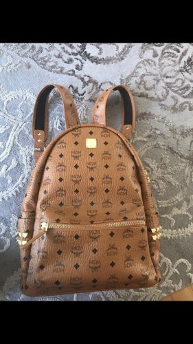 MCM Trekking Backpack cognac-coloured