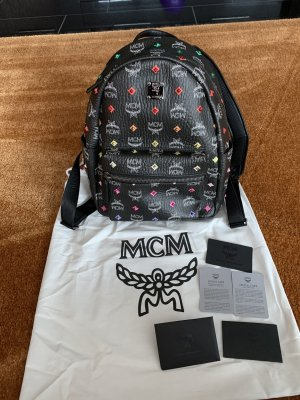 MCM Laptop Backpack multicolored leather