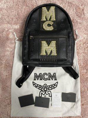 MCM Laptop rugzak zwart-wit