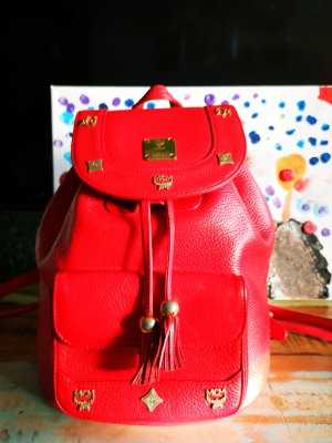 MCM Trekking Backpack red