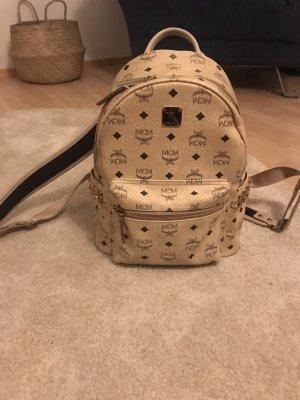 MCM Backpack Trolley cream