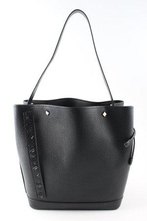 MCM Sac porté épaule noir style d'affaires