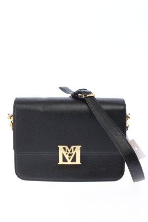 """MCM Schultertasche """"Mena Visetos Leather Block Shoulder Small"""" schwarz"""