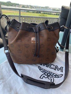 MCM Shoulder Bag brown-dark brown