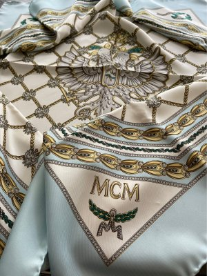 MCM Pañuelo de seda multicolor