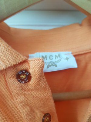 MCM Camiseta naranja claro