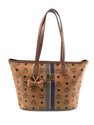 MCM Shopper * 100% Original * Tasche mit Dogbone