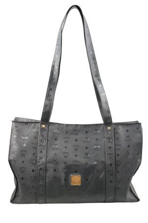 MCM Shopper zwart prints met een thema casual uitstraling