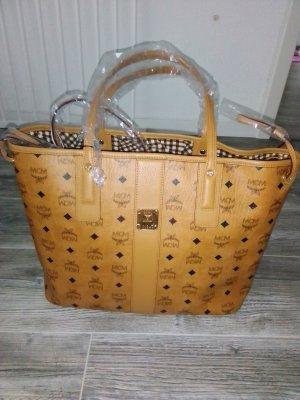 MCM Shopper cognac-coloured