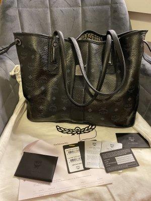 MCM Shopper Liz Medium Schwarz