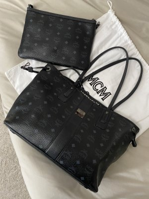 MCM Shopper black-anthracite