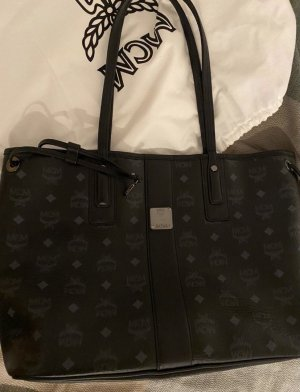 MCM Comprador negro-color plata