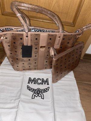 MCM Shopper neu * Champanger * Clutch