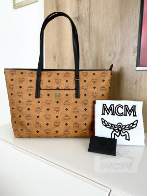 MCM Handbag brown-black