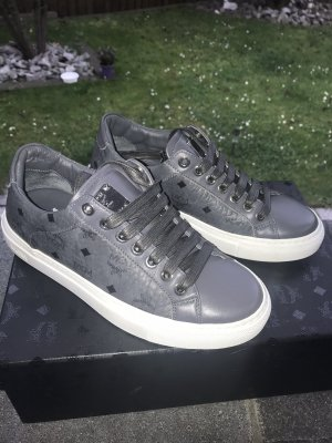 MCM Lace-Up Sneaker grey