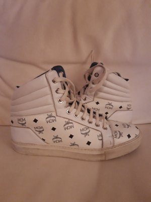 MCM High Top Sneaker white