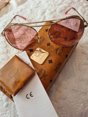 MCM Gafas de piloto color oro-rosa
