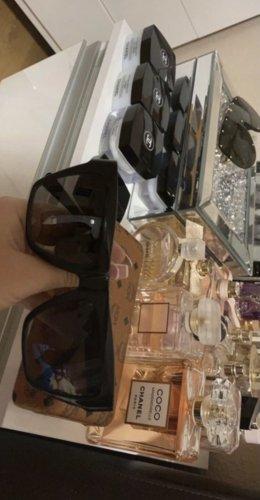 MCM Gafas negro-color oro