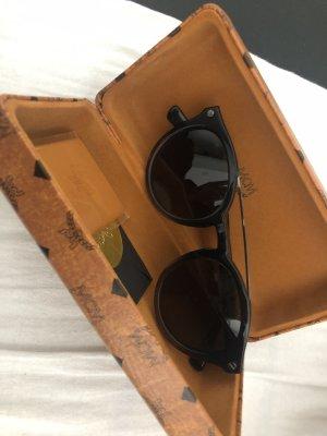 MCM Ronde zonnebril zwart